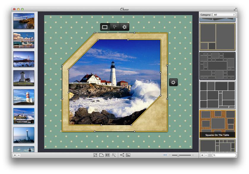 Handy frame editor